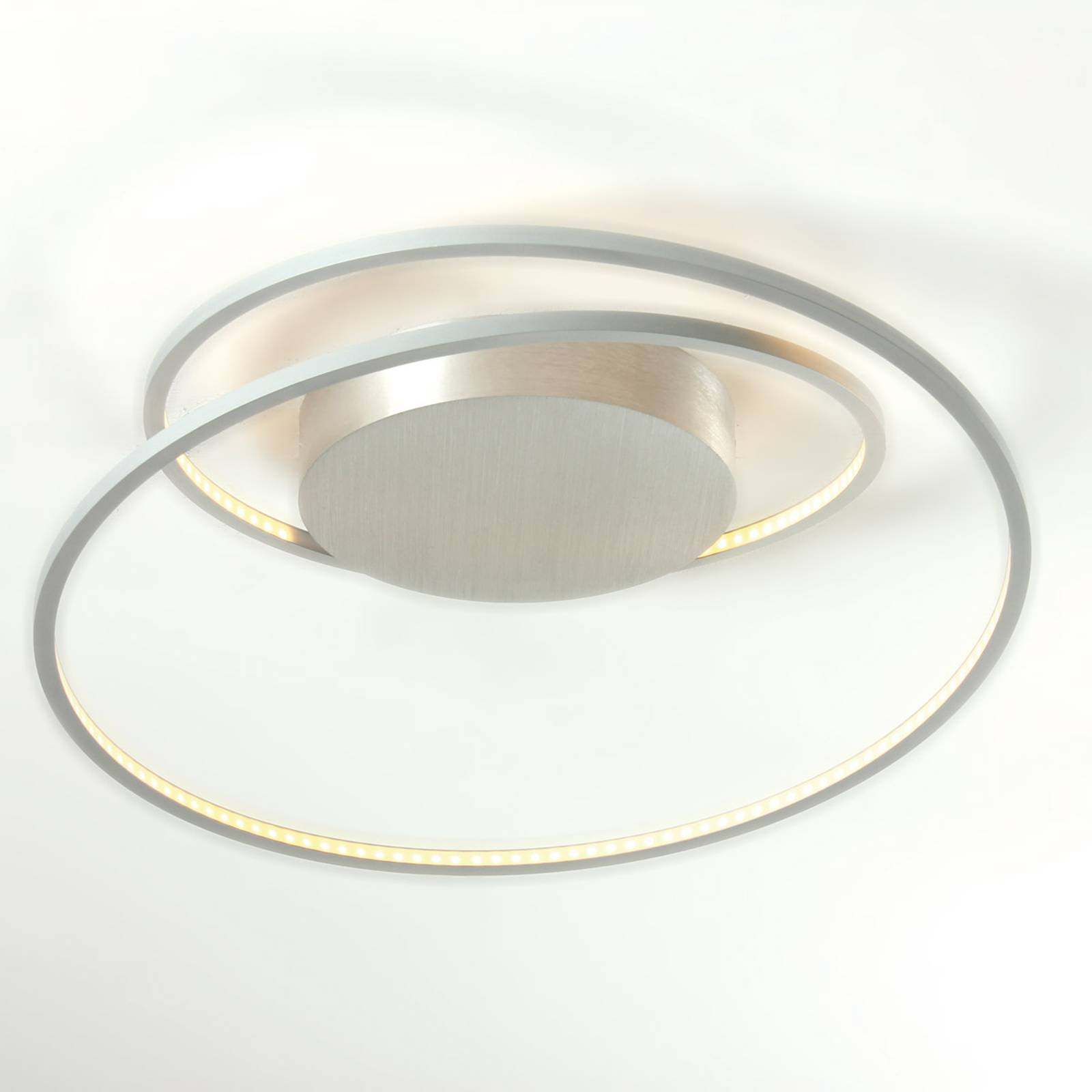 Fascinerende LED-plafondlamp At van aluminium
