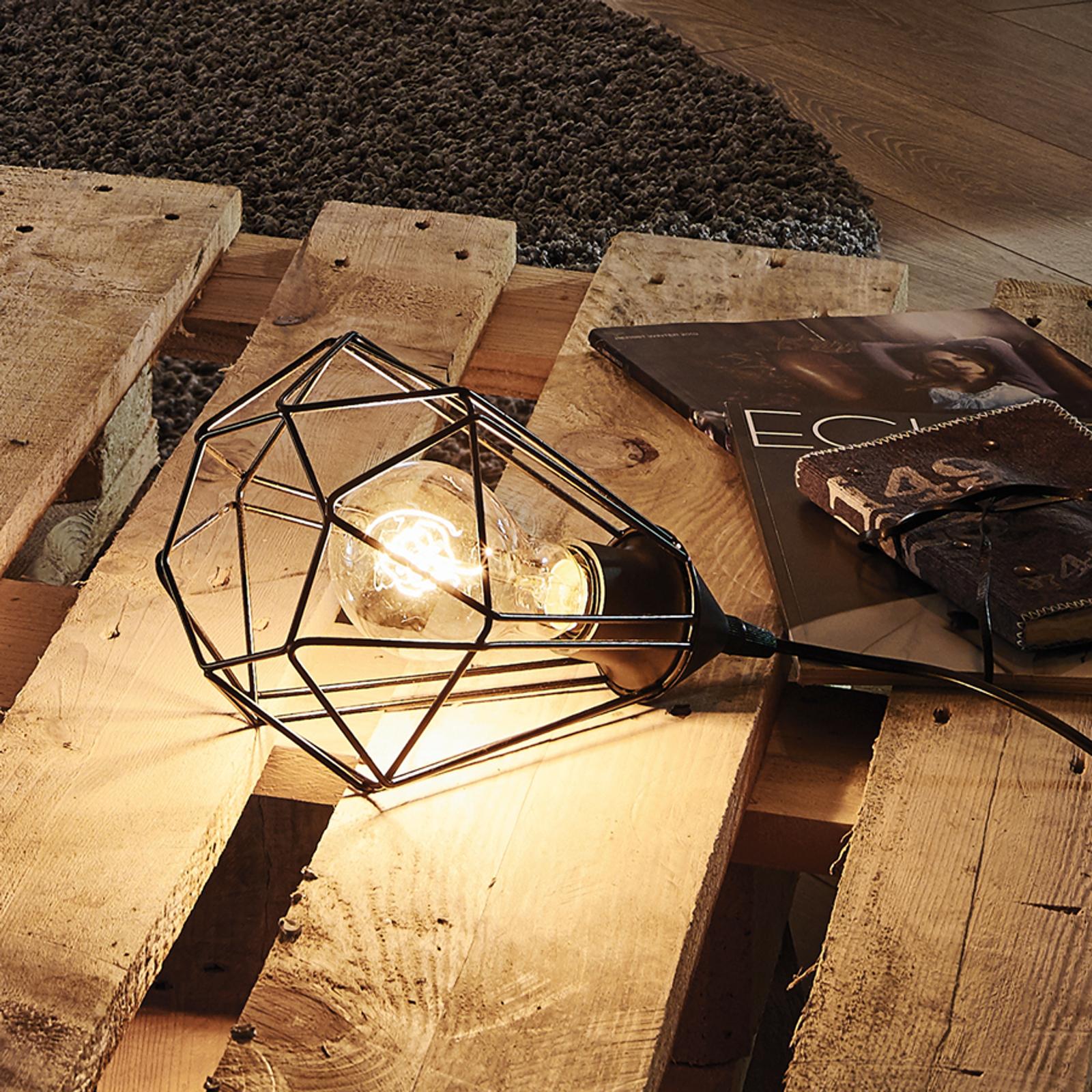 Originellt utformad bordslampa Tarbes