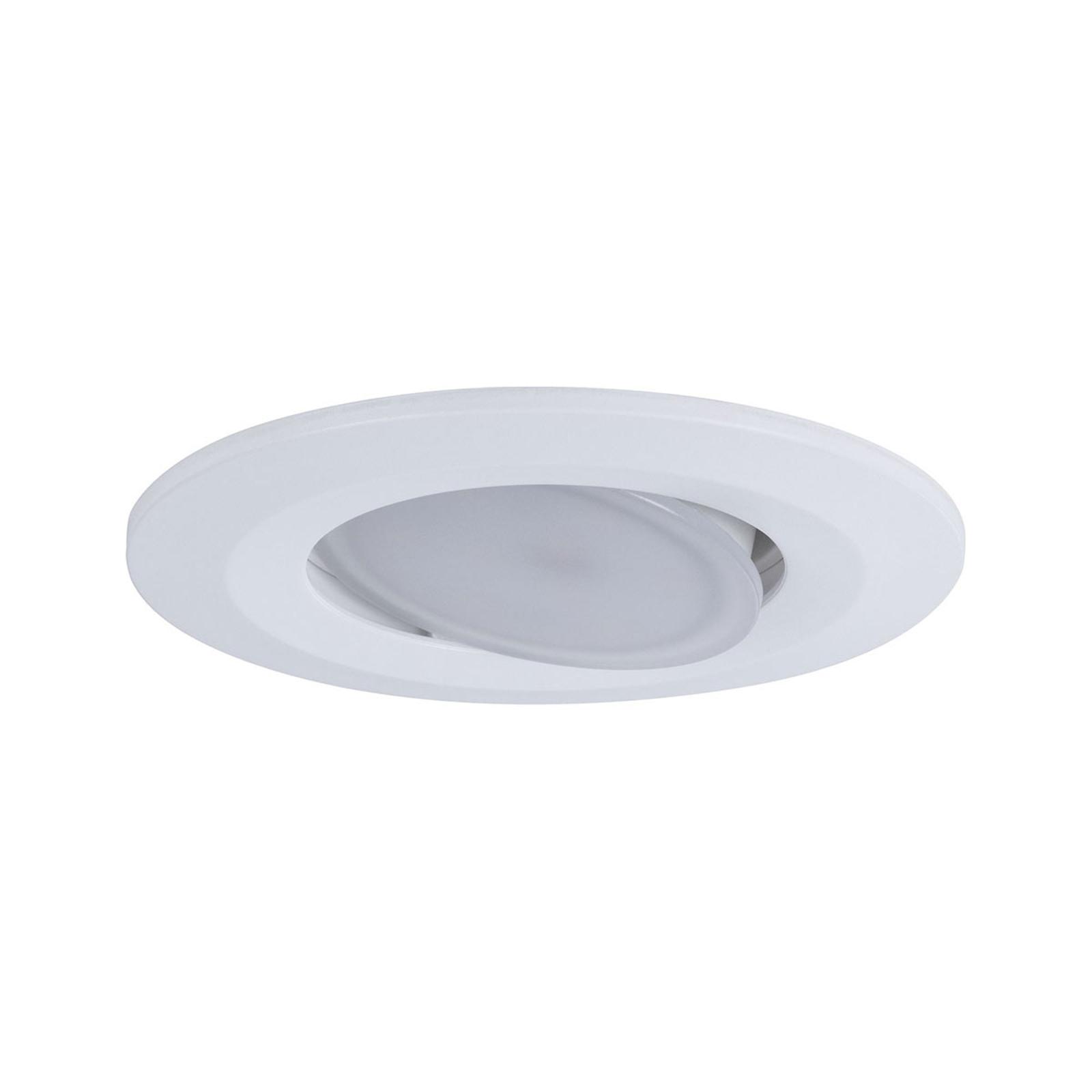 Paulmann spot encastré d'extérieur LED Calla blanc