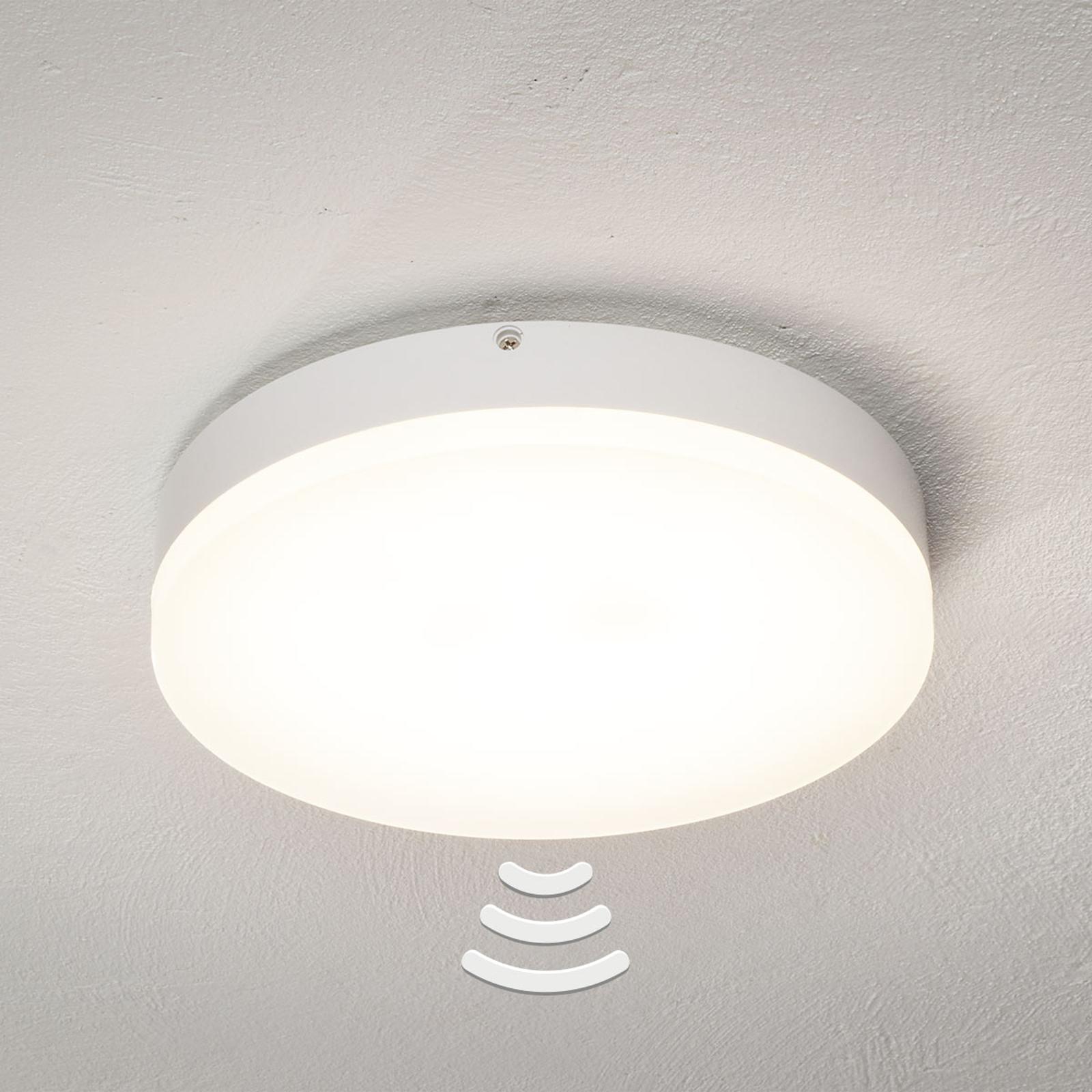 LED-Sensor-Deckenlampe Naxo, rund, 3.000 K