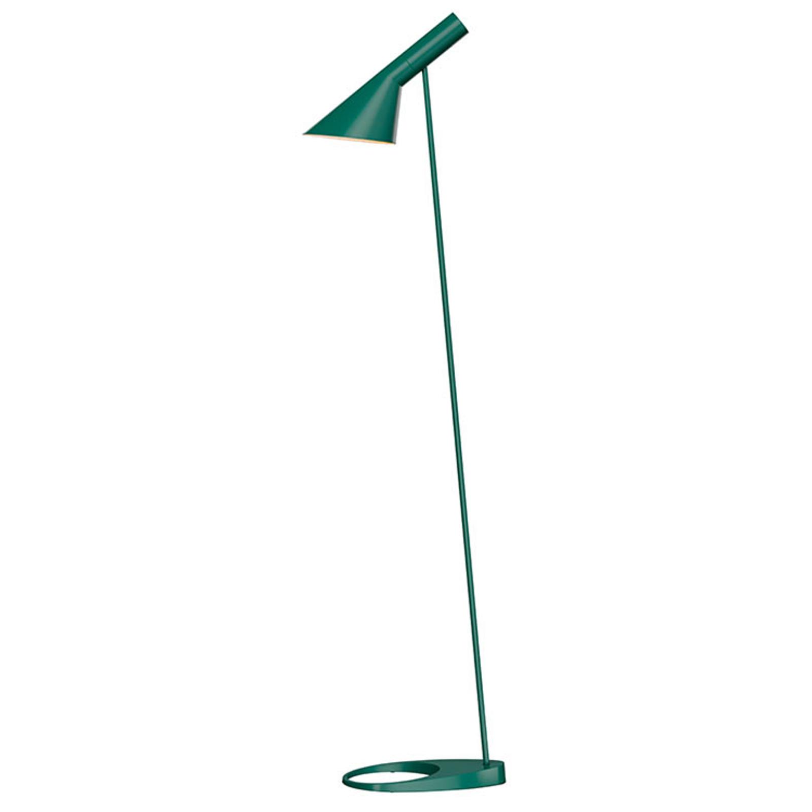 Louis Poulsen AJ - lampadaire, vert foncé