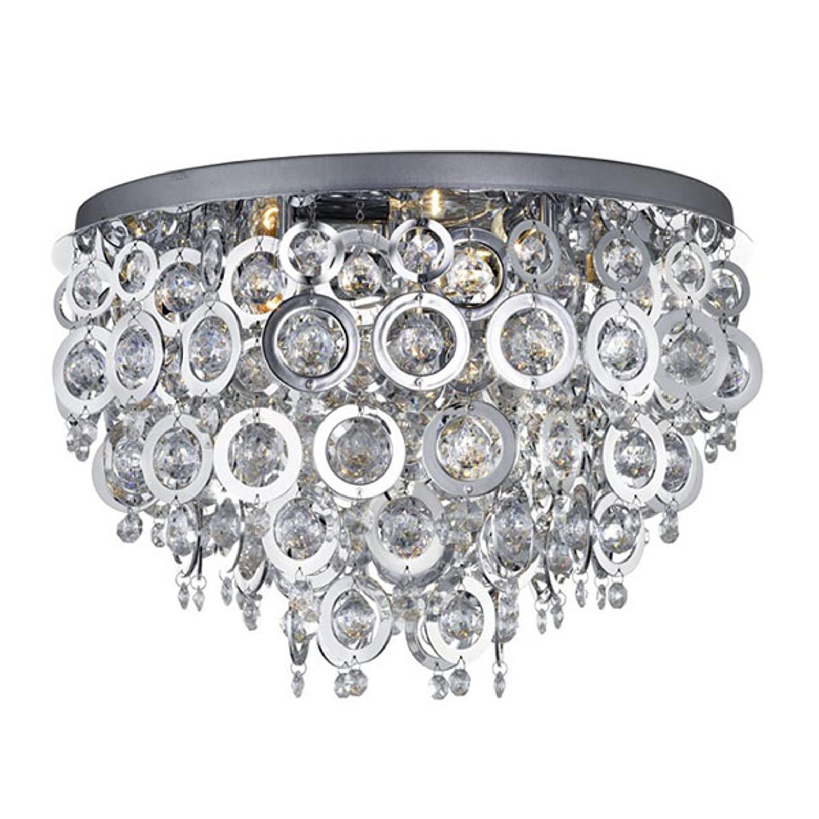 Lampa sufitowa Nova z dekoracyjną ozdobą, Ø 50cm