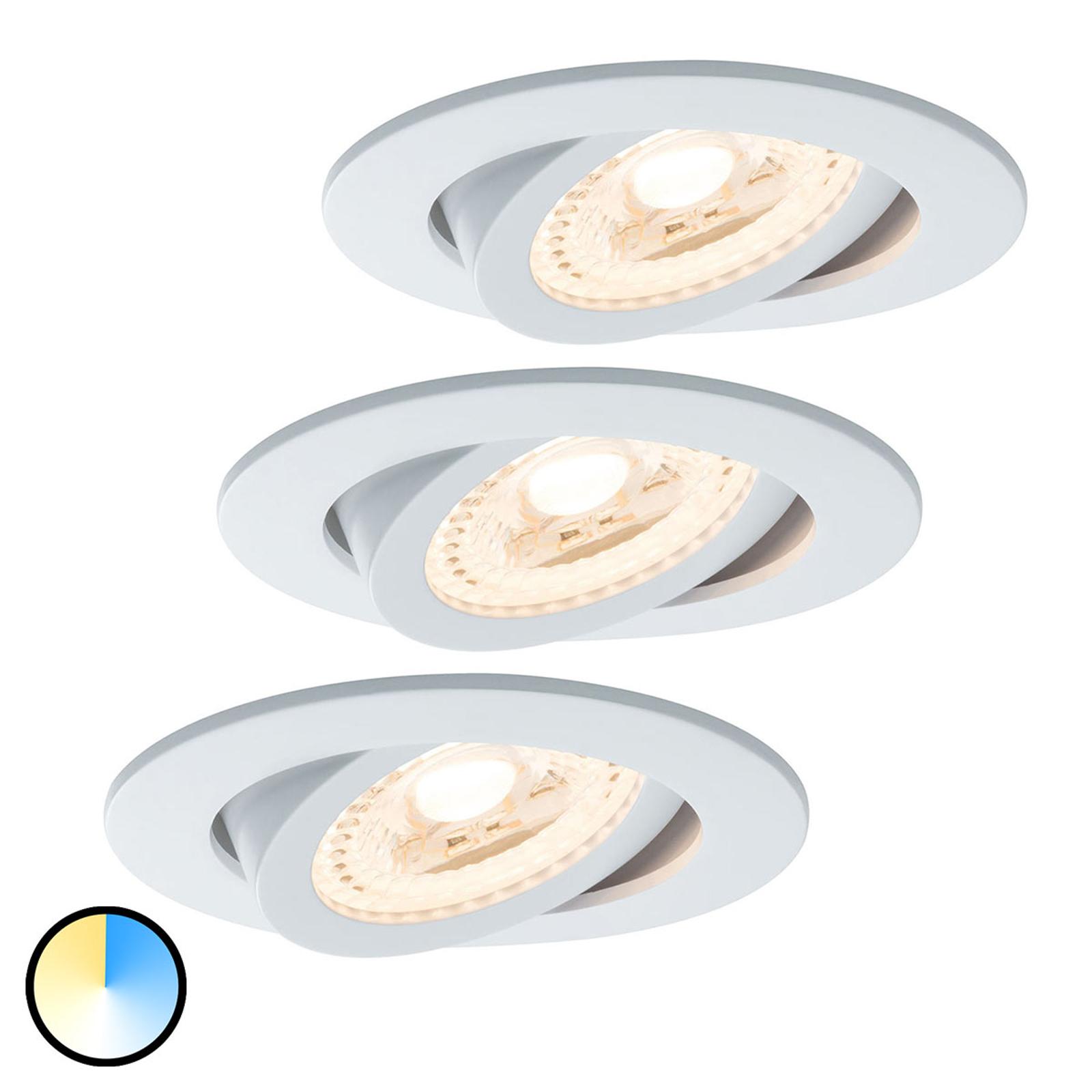Paulm Smart Friends set van 3 LED spot Lens CCT