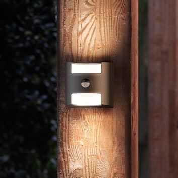 Grass – LED-tunnistinseinävalaisin, antrasiitti