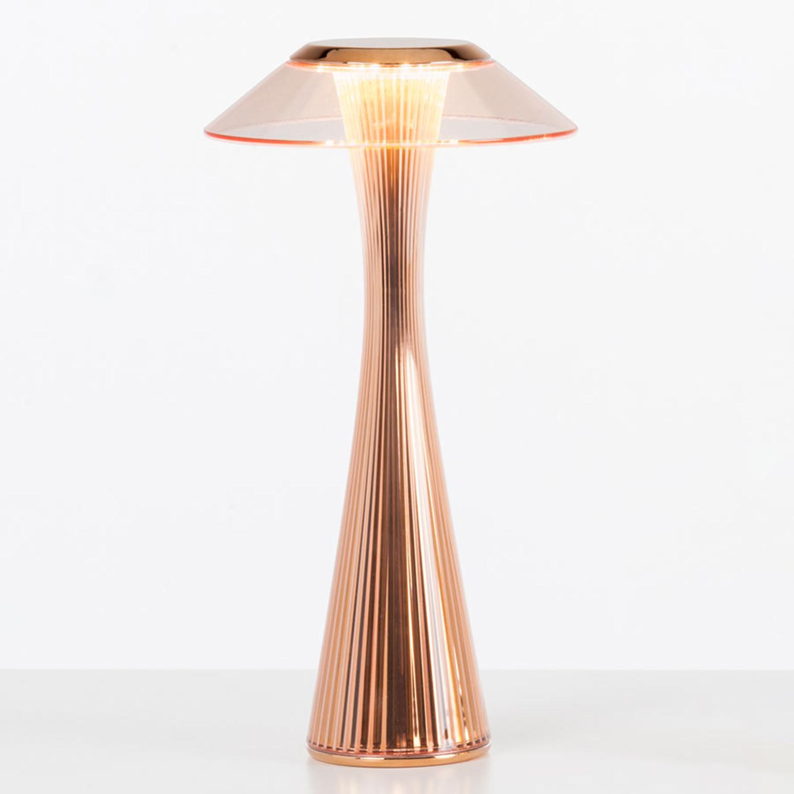 Kartell Space - LED design-tafellamp, koper