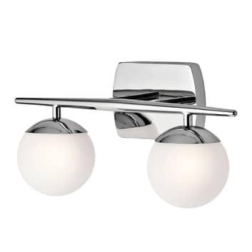 LED badkamer wandlamp Jasper, 2-lamps