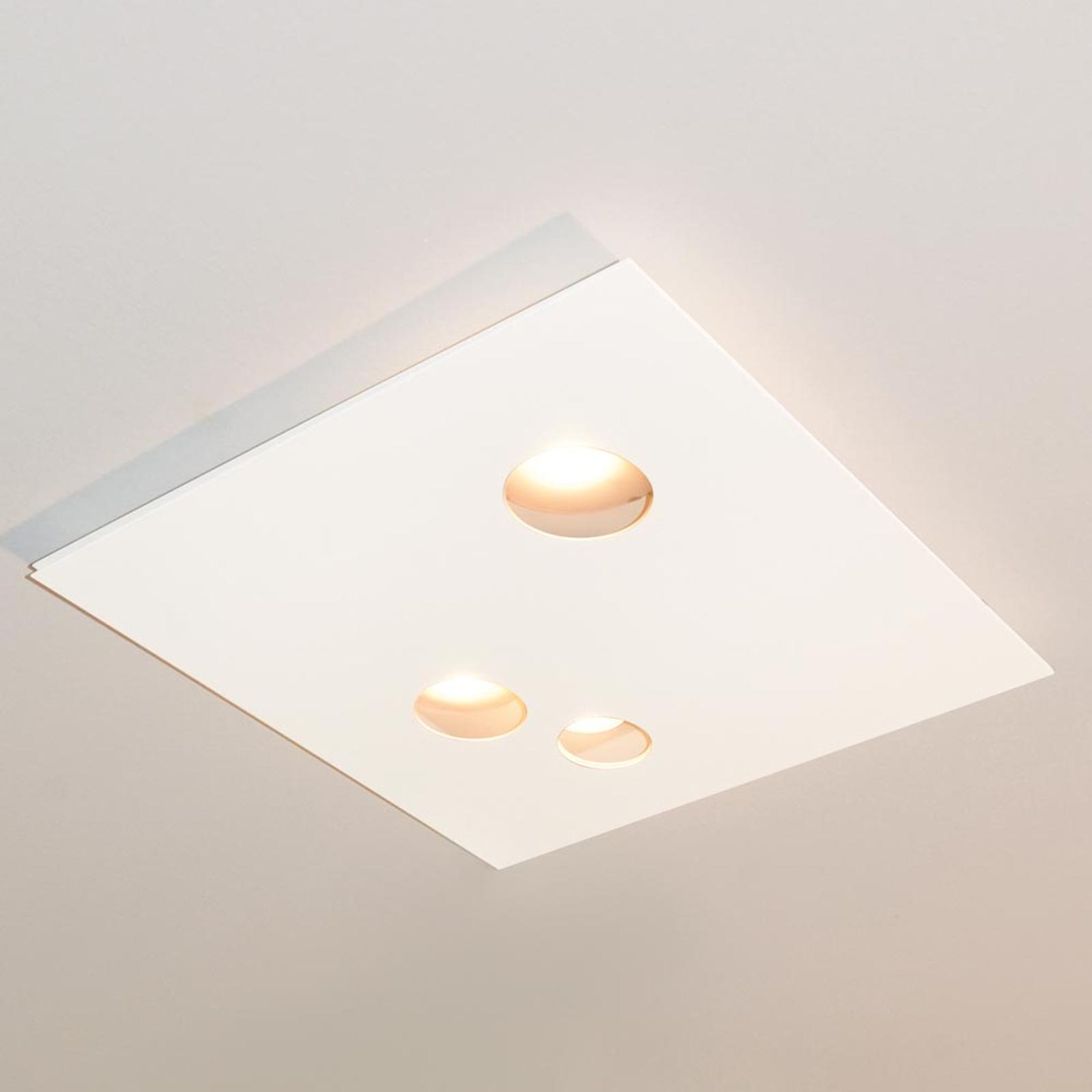 Knikerboker Des.agn LED-Deckenlampe, runde Löcher