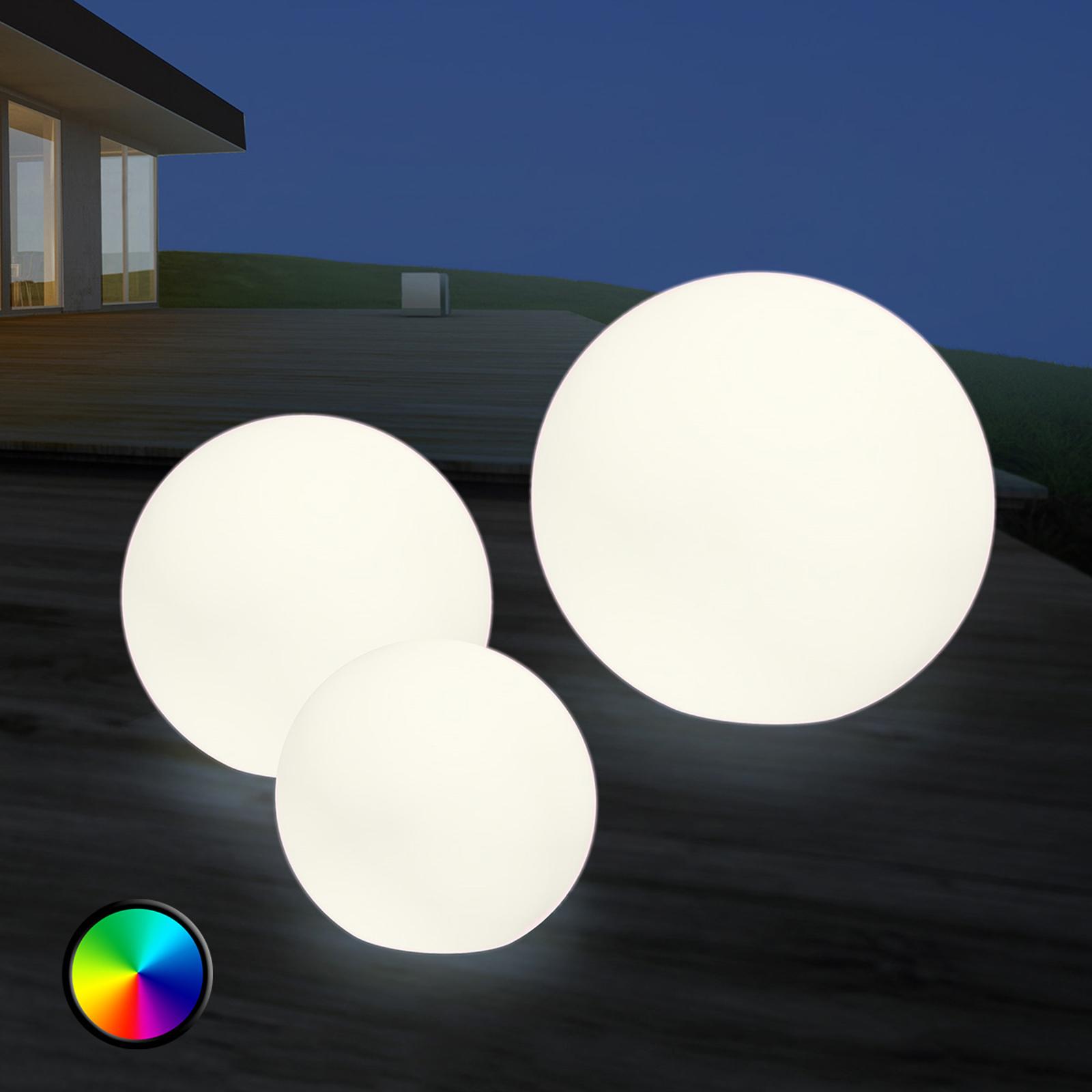 LED-ulkokoristevalaisin Shining Globe 30cm
