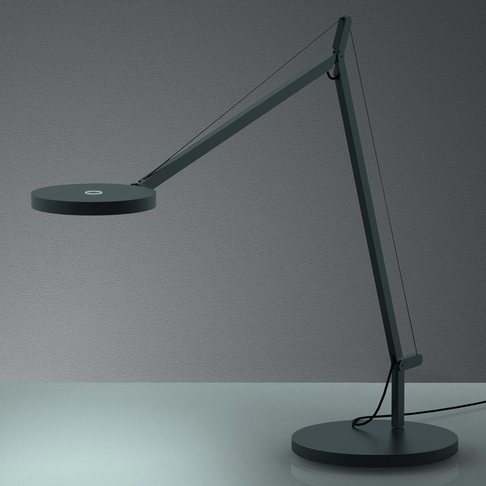 Ściemniana lampa stołowa LED Demetra, 3.000K