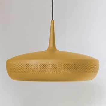 UMAGE Clava Dine lampada a sospensione gialla