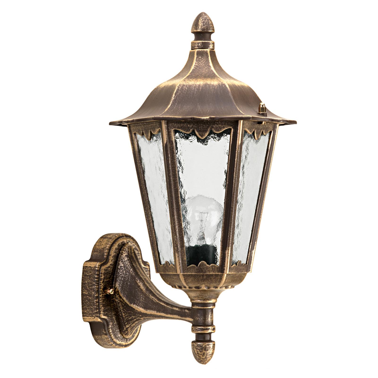 Stylowa zewnętrzna lampa ścienna 1818