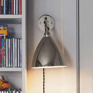 GUBI Bestlite BL7 væglampe limited edition, nikkel