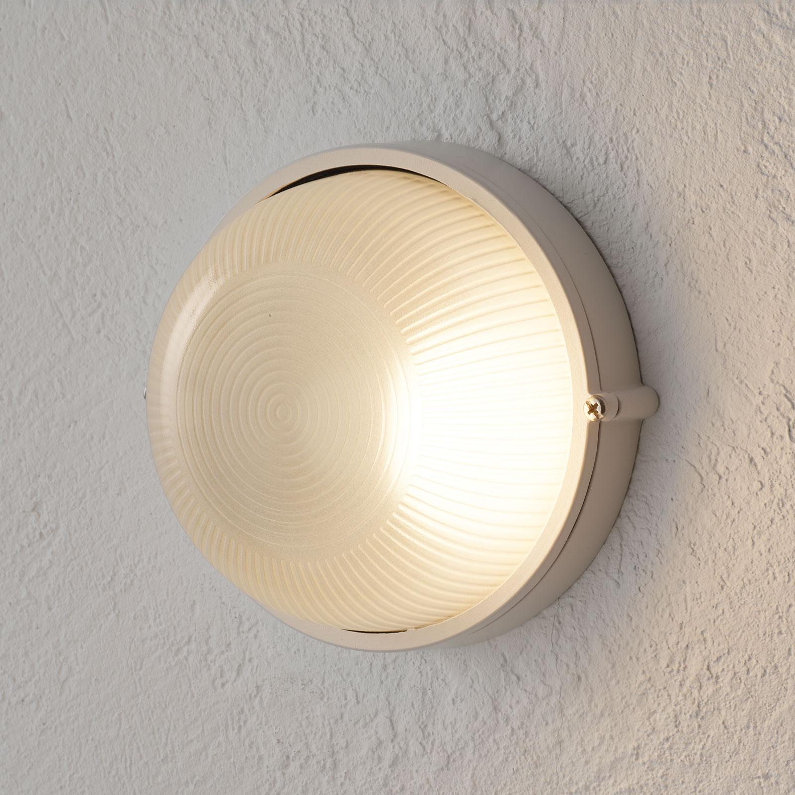 Robust udendørs væglampe Silvester