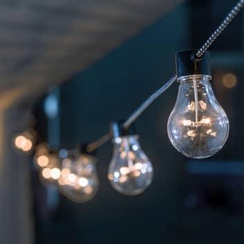 Cadena de luces LED Biergarten, ámbar
