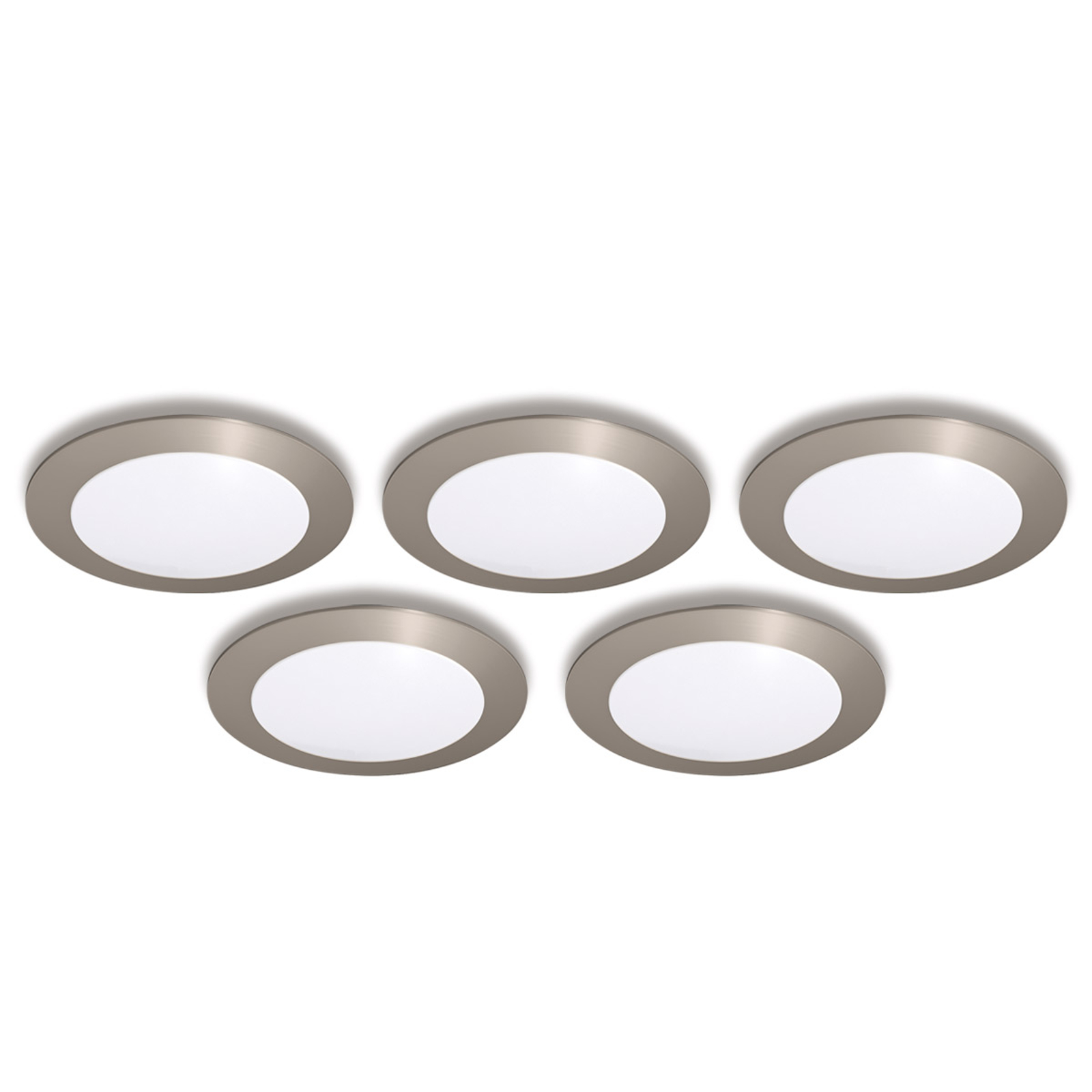 recessed light FR 68 LED, set of five warm white_4514277_1