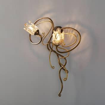 Belle applique MONIQUE, 2 lampes
