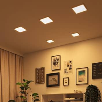 Paulmann LED-panel Areo dim-to-warm kantet hvit