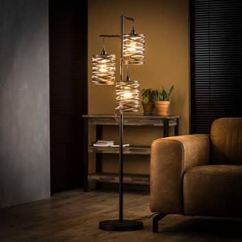Golvlampa Spindlight, 3 lampor, höjd 150 cm