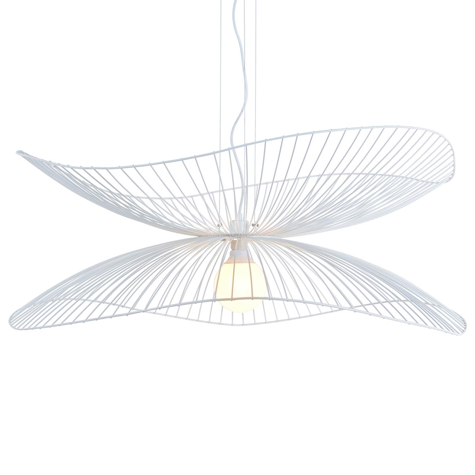 Forestier Libellule S lampa wisząca, 100 cm, biała