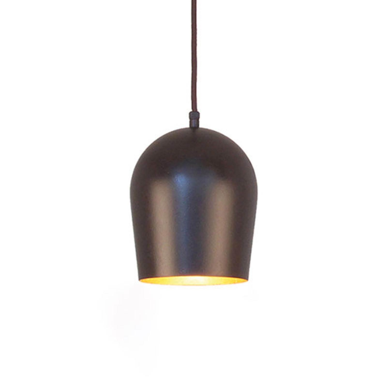 Menzel Solo Glo12 lampa wisząca brązowo-czarna