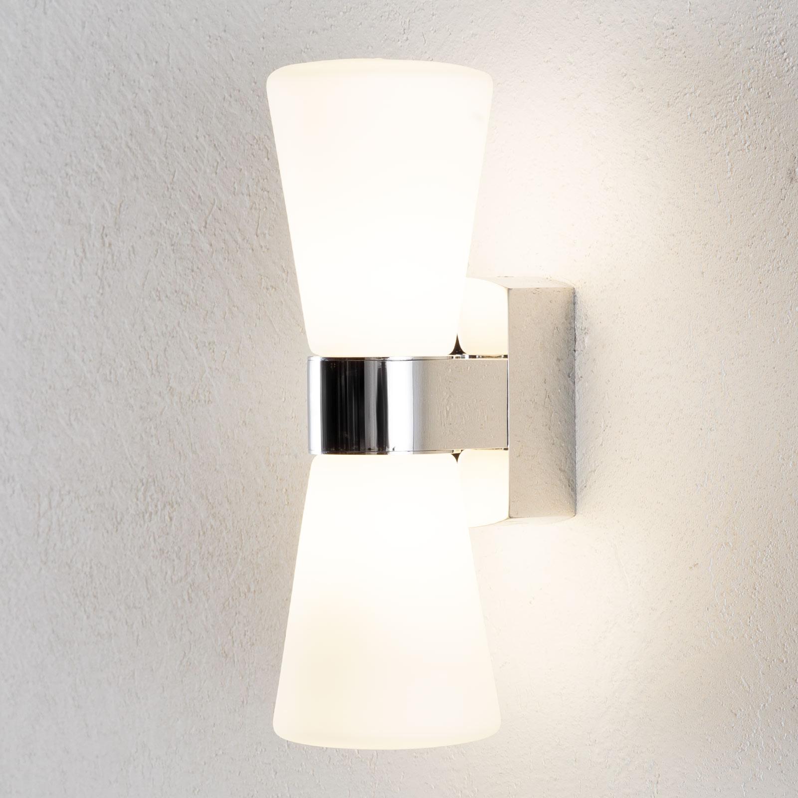 Mooi gevormde LED wandlamp Cailin - IP44