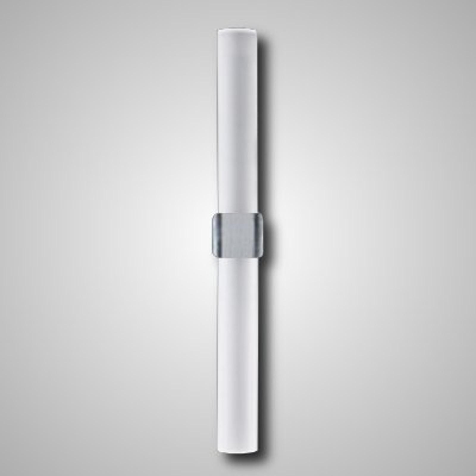 Glazen wandlamp Stick, voor de badkamer