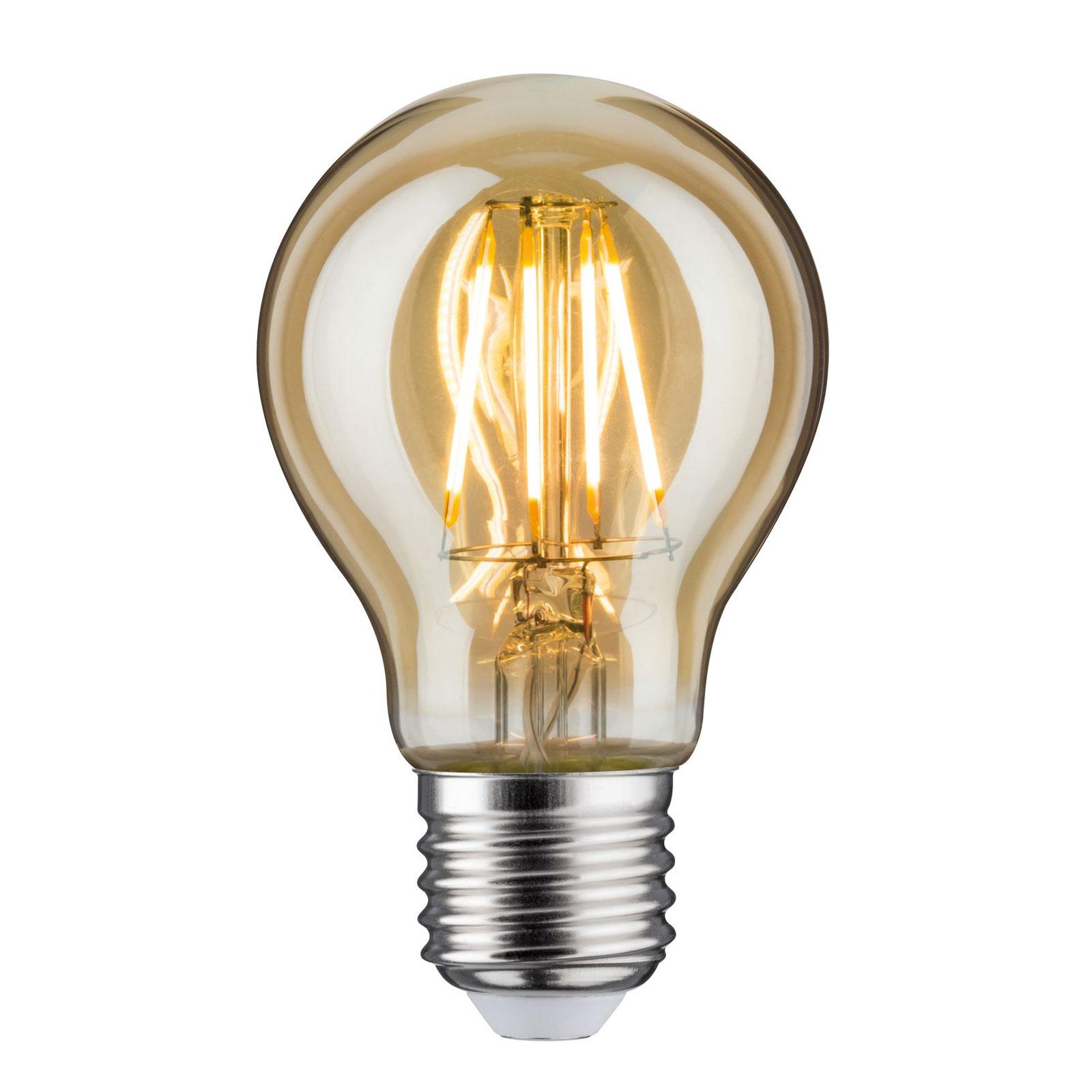 LED-Lampe E27 6,5W 2.500K gold