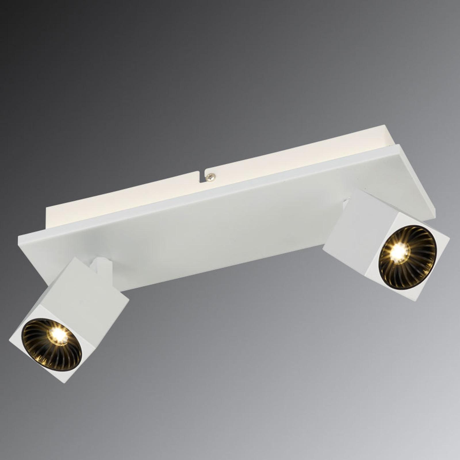 Flessibile plafoniera LED Cuba con LED Osram