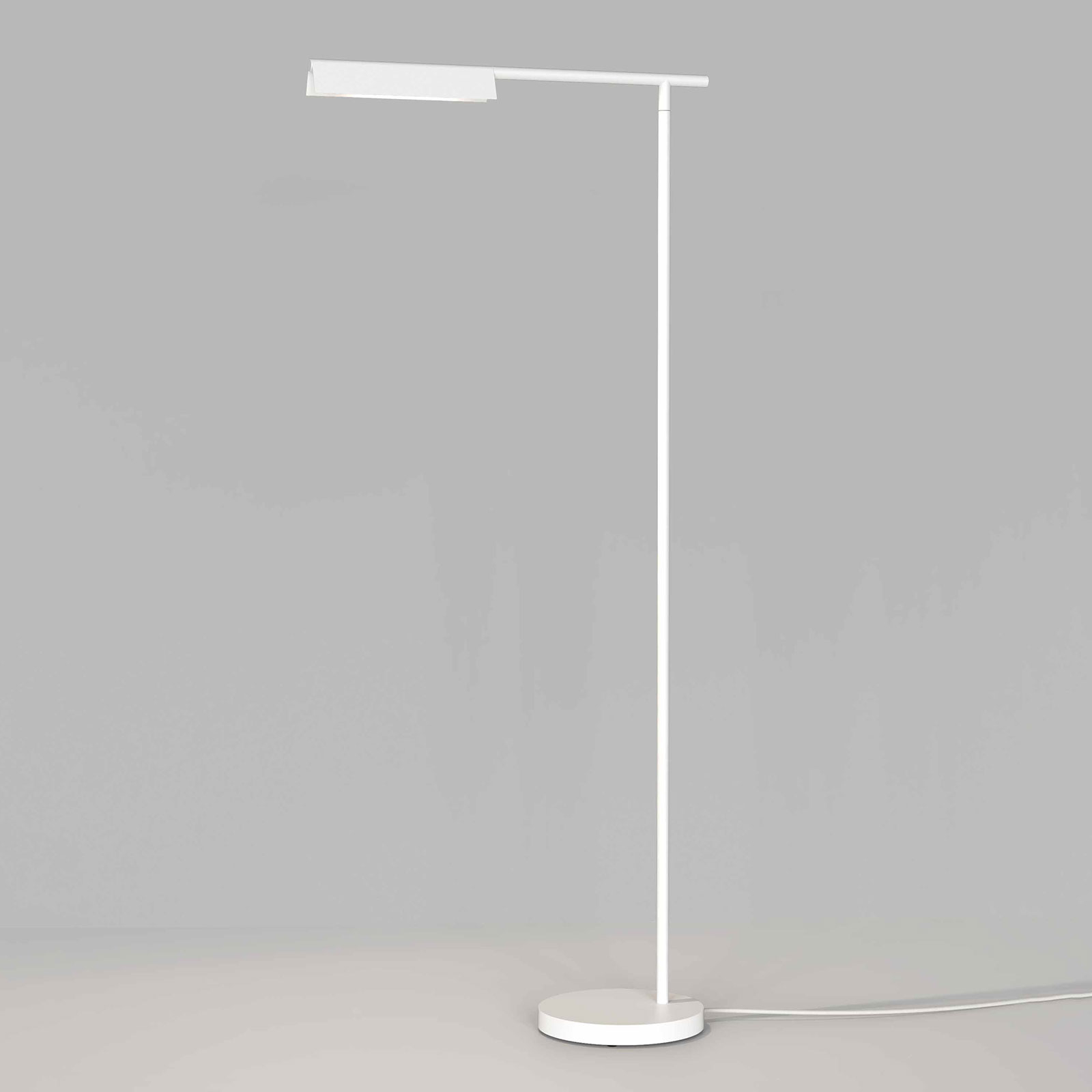 Astro Fold lampadaire LED blanc mat