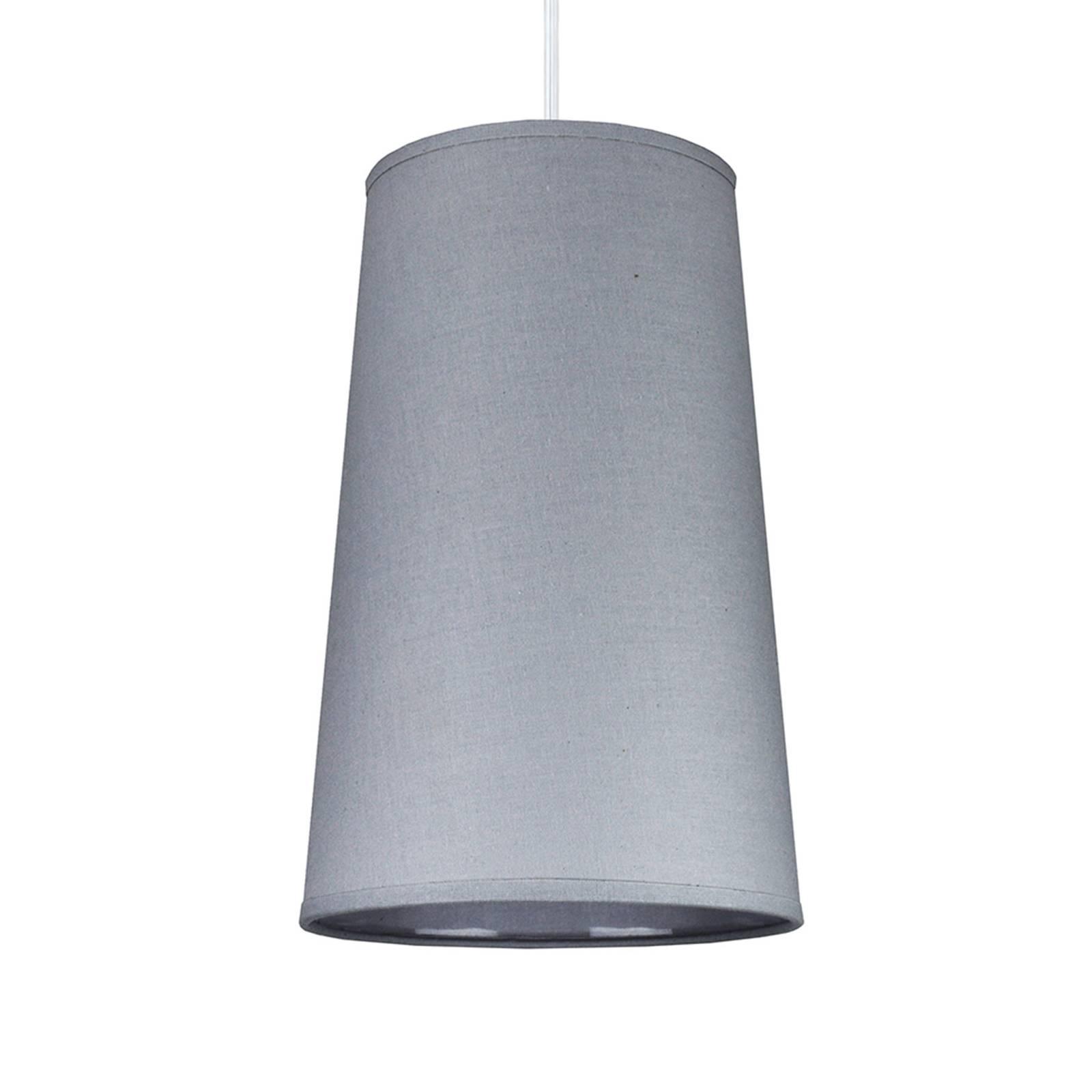 Lampa wisząca Soul, srebrna