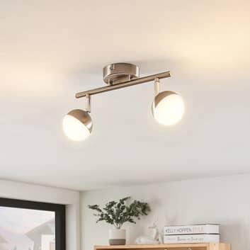 Lindby Lientje LED-taklampe, to lyskilder