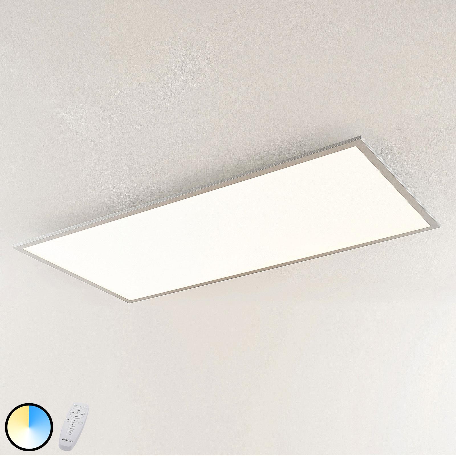Arcchio Gelora LED-Panel, CCT, 120 cm x 60 cm