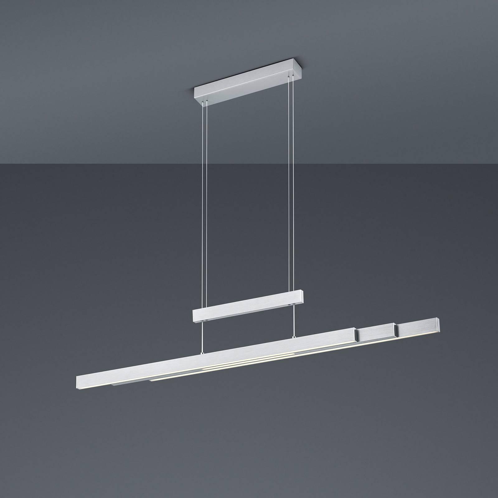 Lampa wisząca LED Trajan, 2700-5000K, nikiel