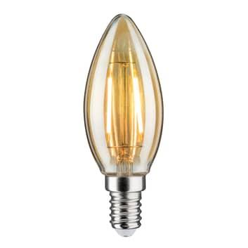 E14 2,6W lampadina a candela LED 2.500K oro