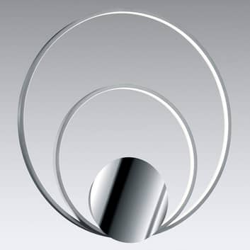 Sedona - dimmbare LED-Wandlampe in Alu/Chrom