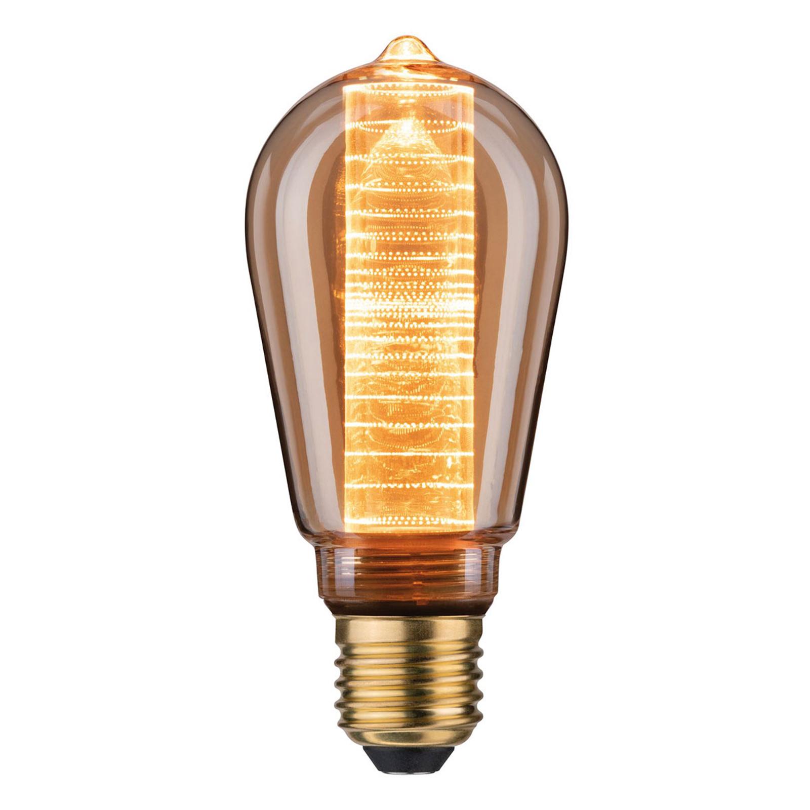LED-pære E27 ST64 4 W InnerGlow med ringmønster