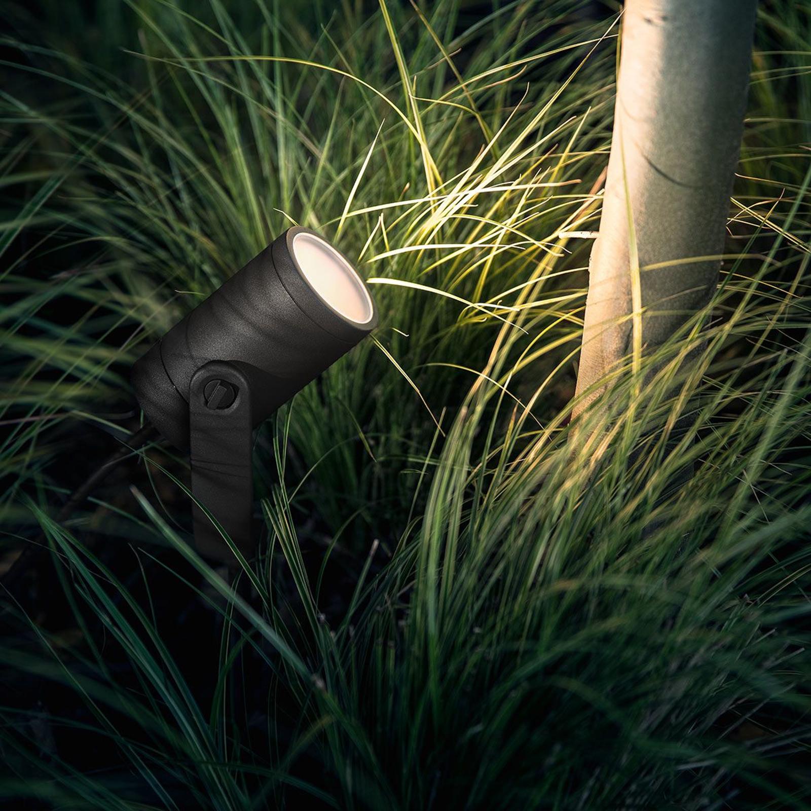 Philips Hue LED-spotlight Lily i 3-pack