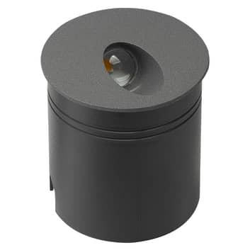 Aspen LED-indbygningslampe IP65, rund