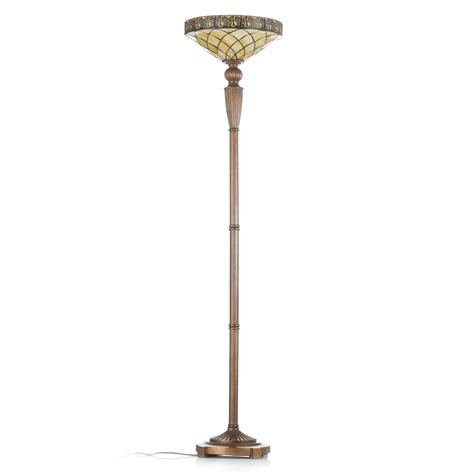 Diamond uplight-lampe i Tiffany-stil