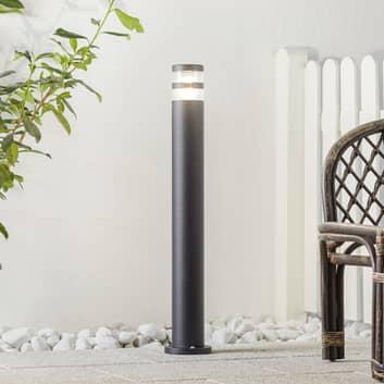 Gånglampa Birk med effektivt ljus, svart