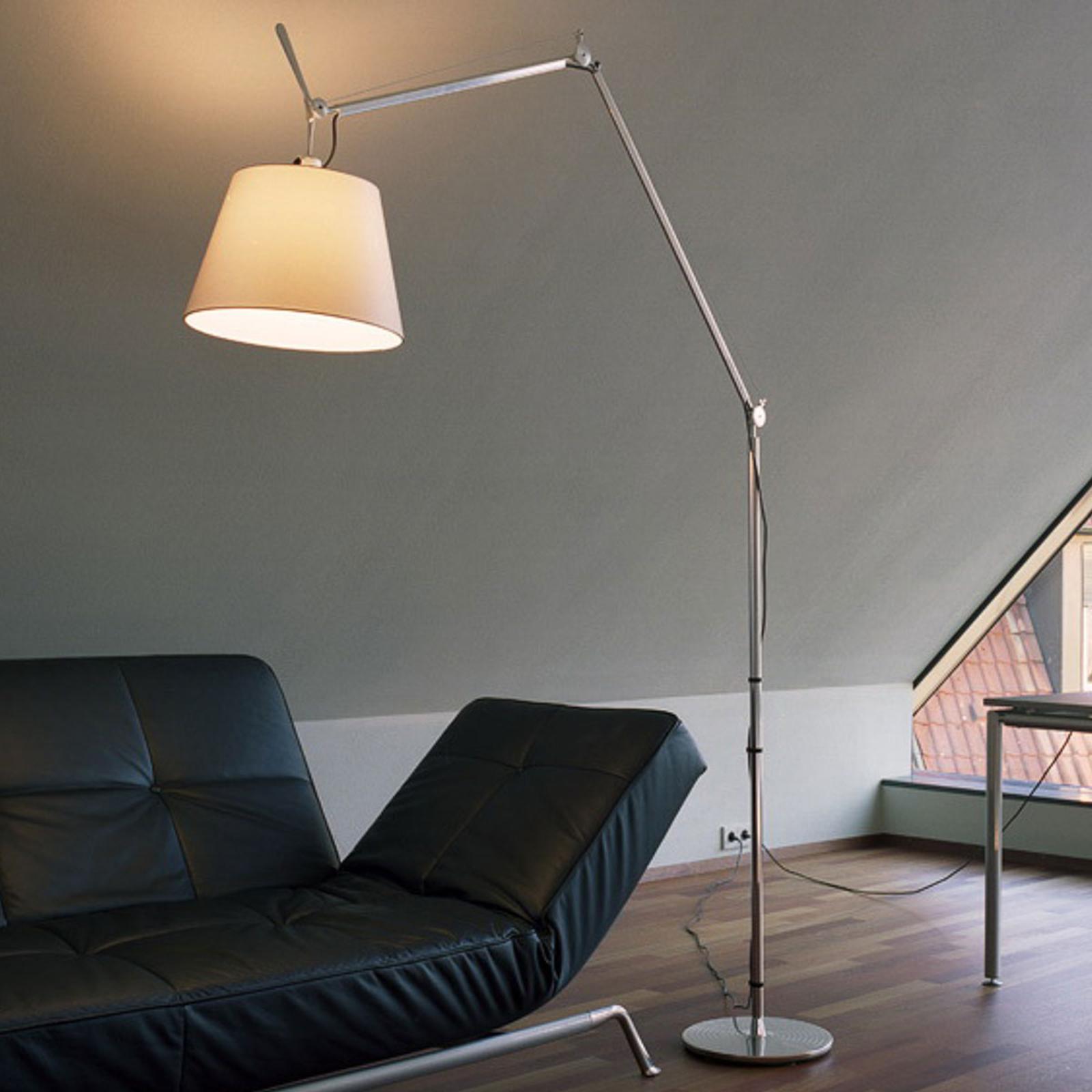 Artemide Tolomeo Mega LED Floor alu Pergament 36cm