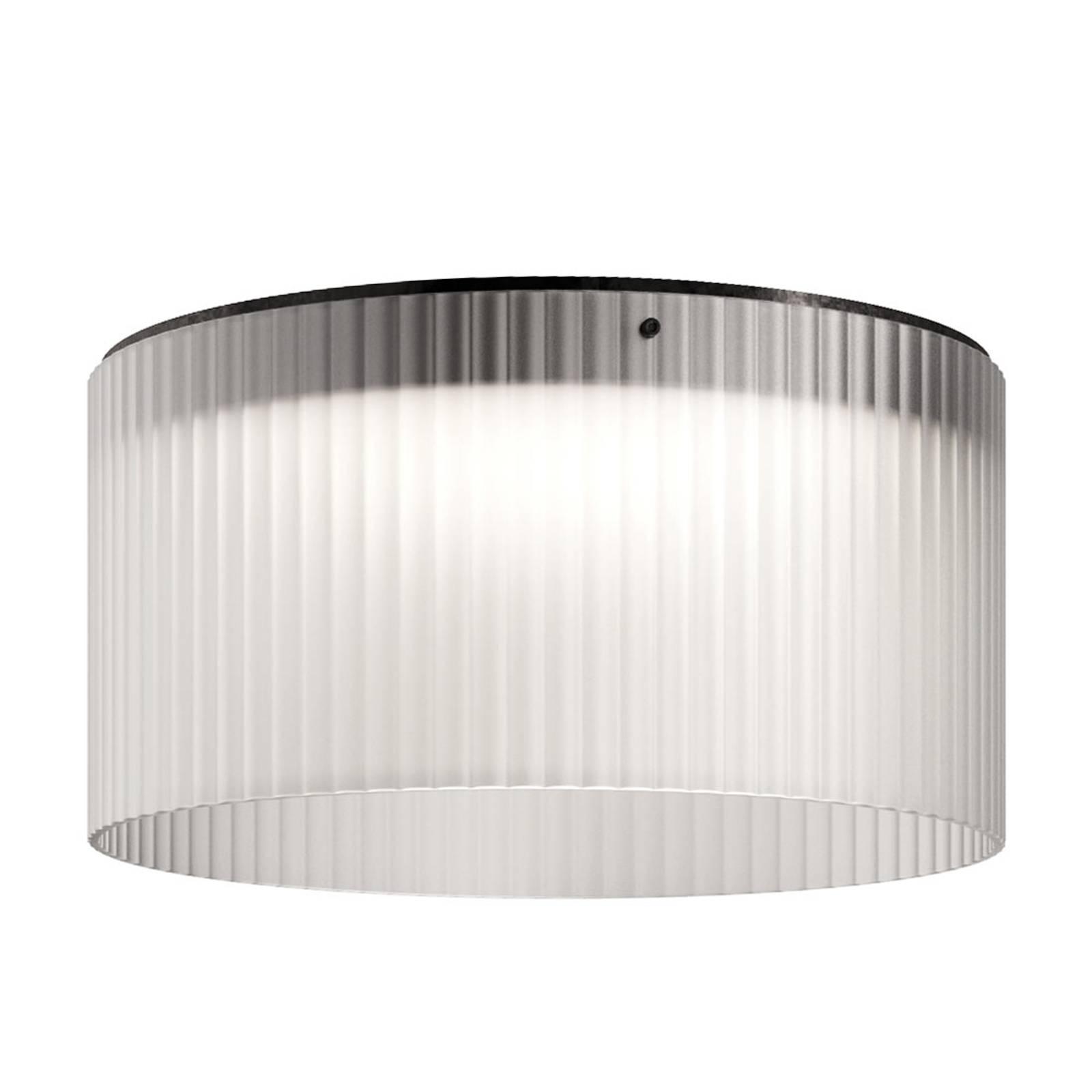 Kundalini Giass - lampa sufitowa LED Ø50 cm, biała
