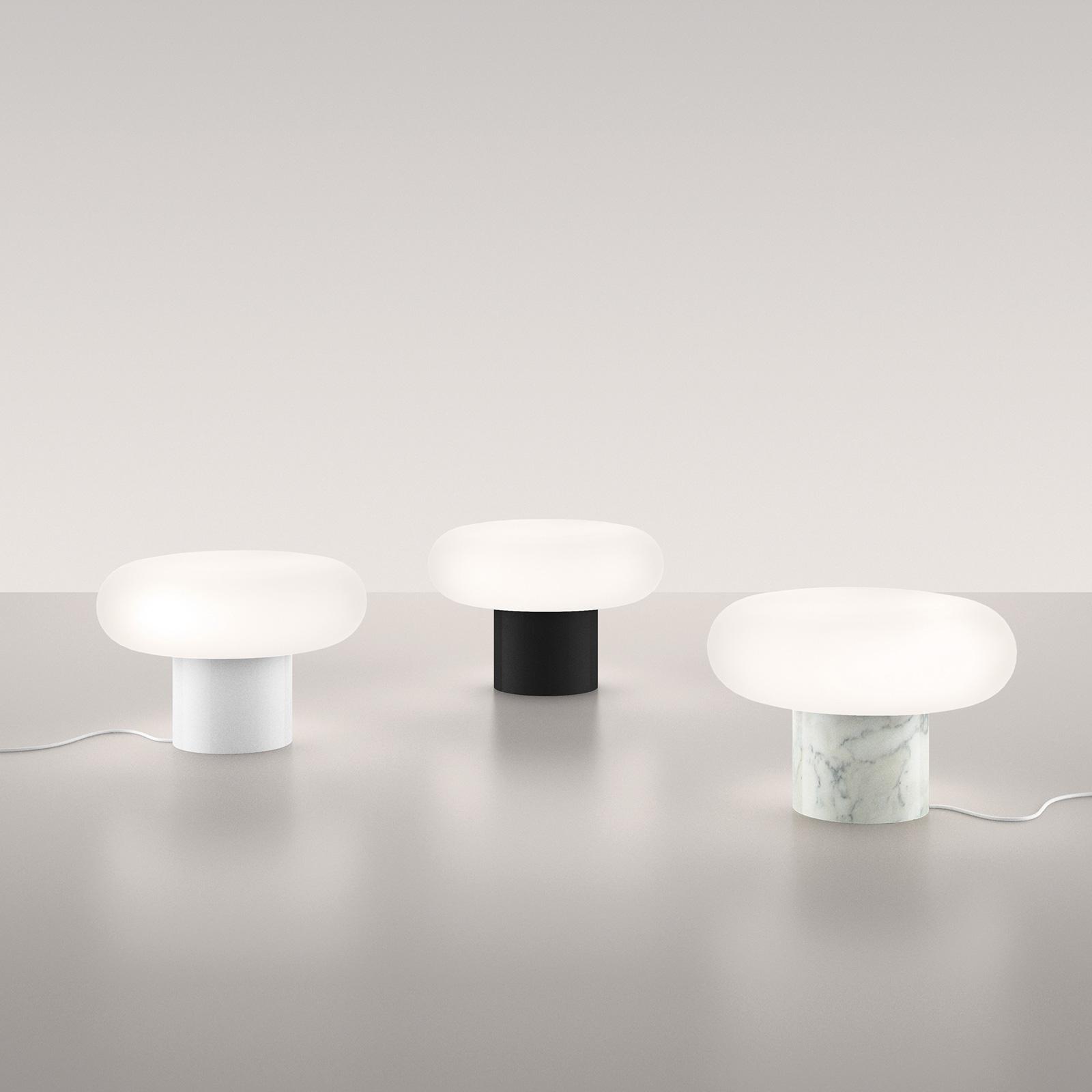 Artemide Itka LED-Tischleuchte Marmorfuß