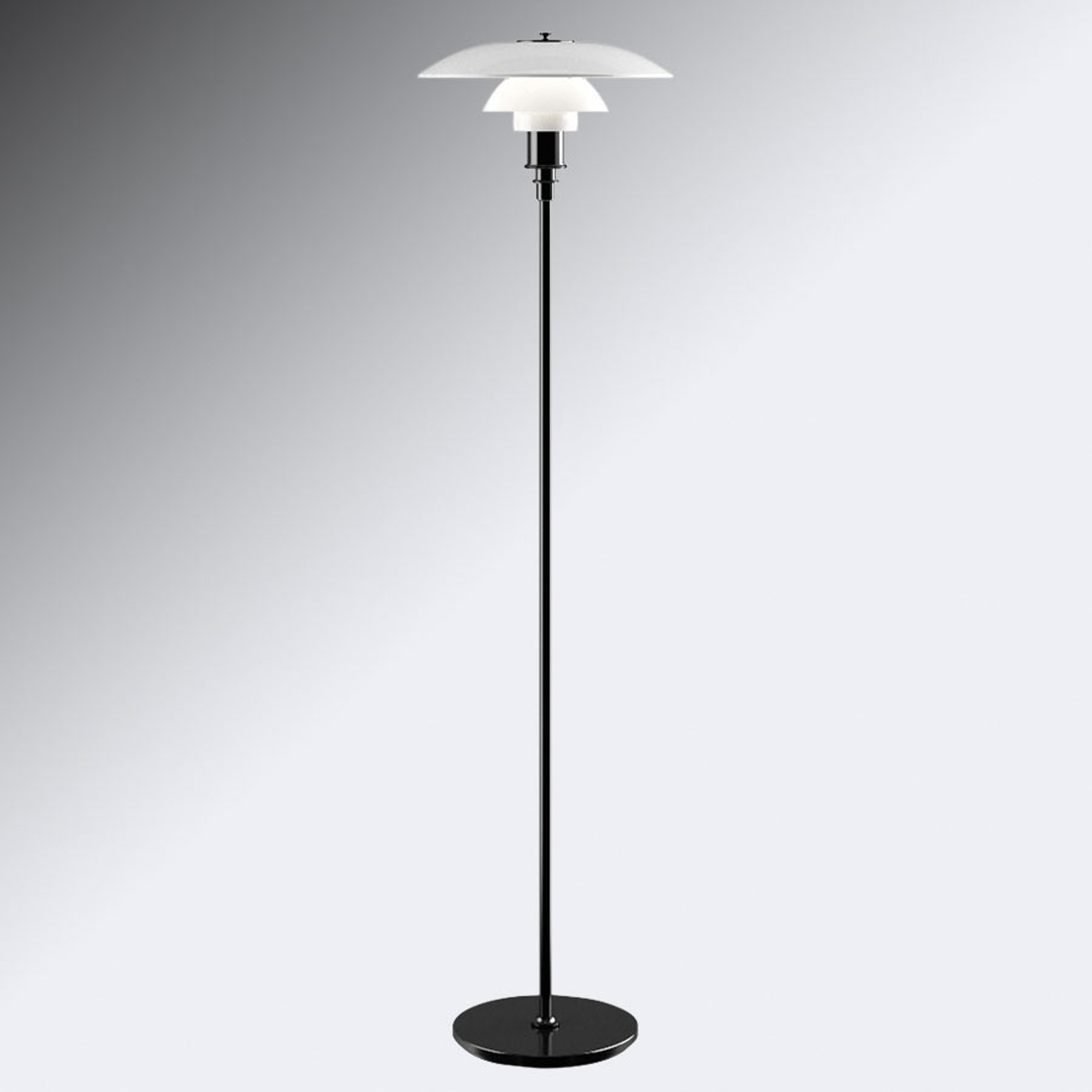 Louis Poulsen PH 3 1/2-2 1/2 Stehlampe schwarz