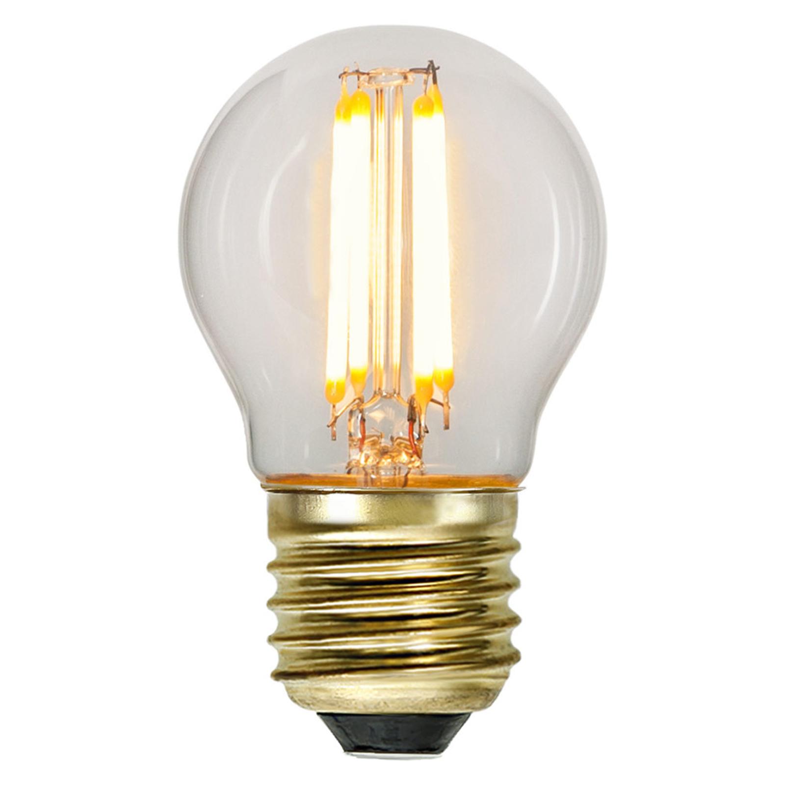 Lampadina LED E27 4W Soft Glow 2.100K dimm 3 step