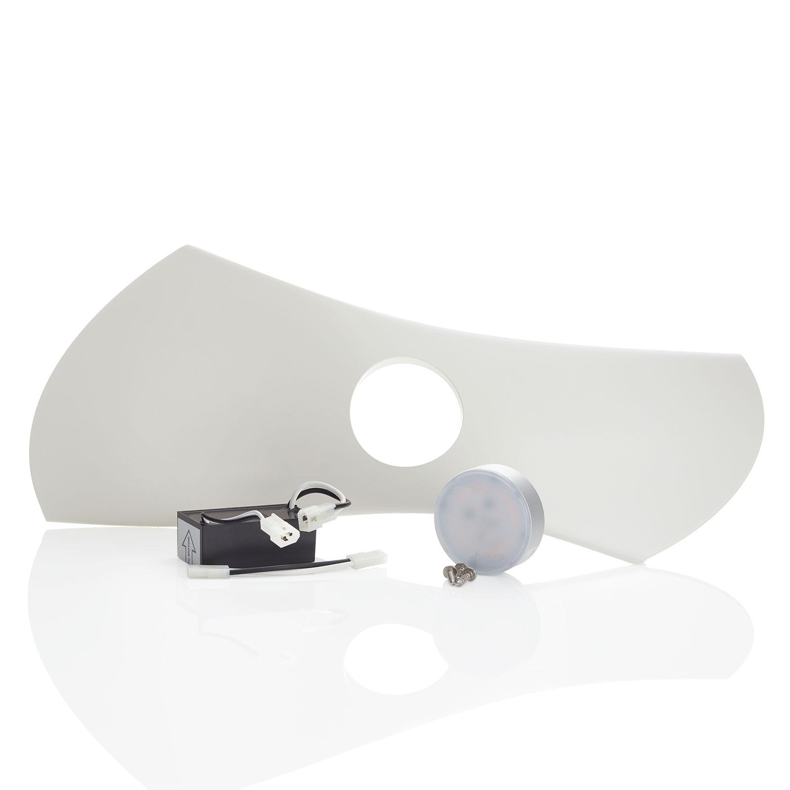 Aeratron AE2+ -tuulettimen valosarja, valkoinen