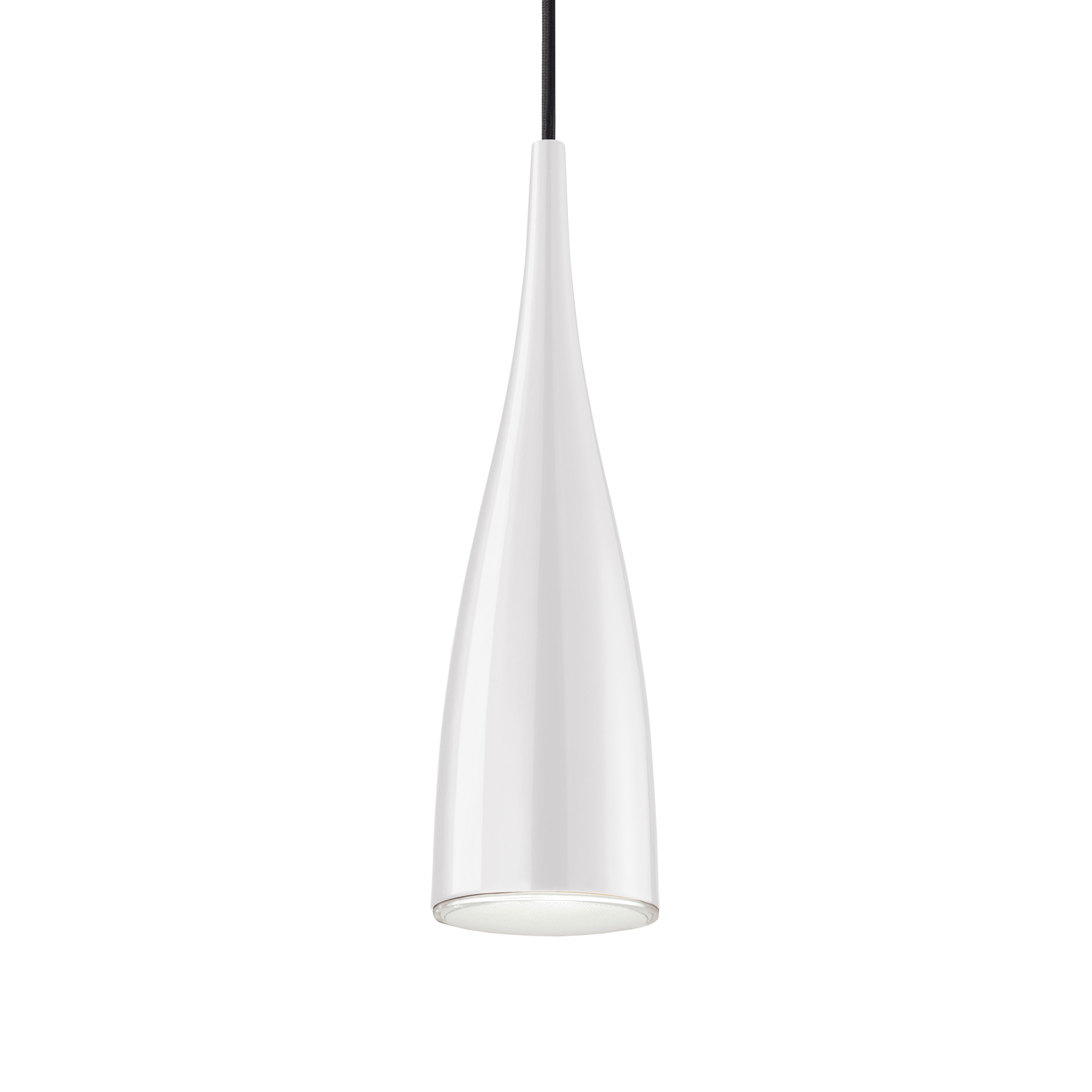 Grok Clear suspension, abat-jour blanc-transparent