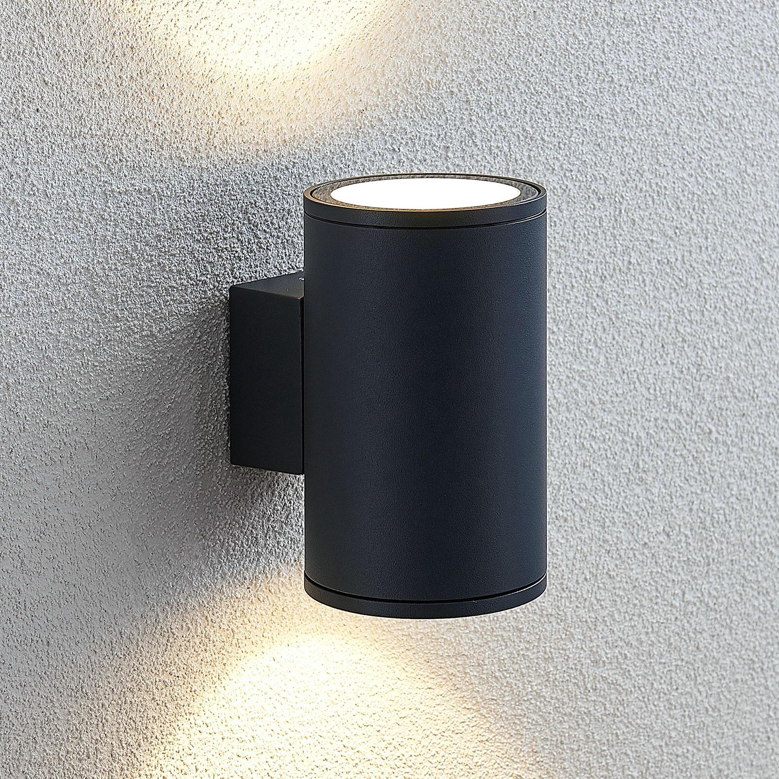 Applique LED da esterni Visavia, 2 punti luce