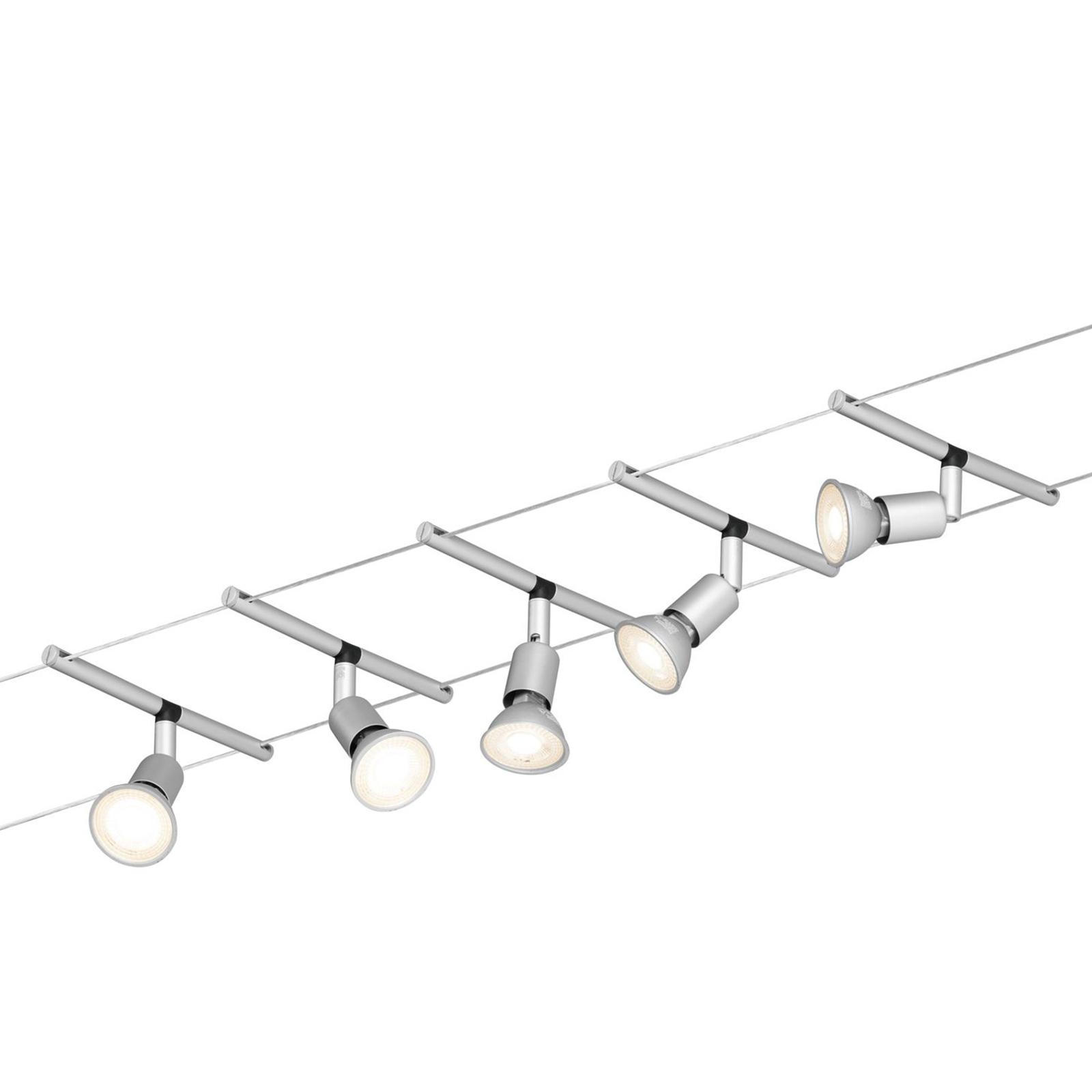 Paulmann Spice Salt LED-Seilsystem, 5flammig, 10m