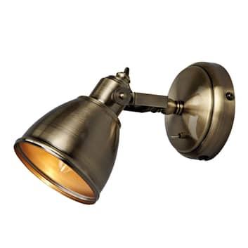 Nástěnné světlo Fjällbacka se starožitným vzhledem